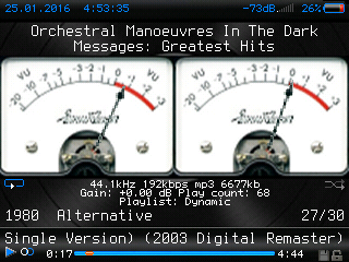Rockbox Themes - Analog320 Theme